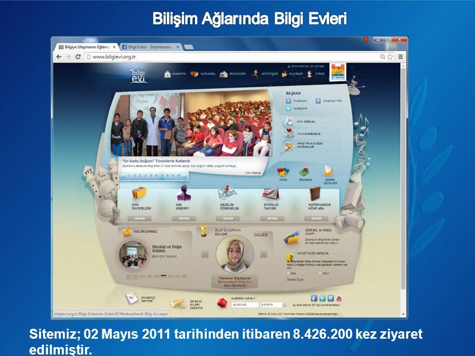 Sitemiz; 02 Mayıs 2011 tarihinden itibaren 8.426.200 kez ziyaret edilmiştir.