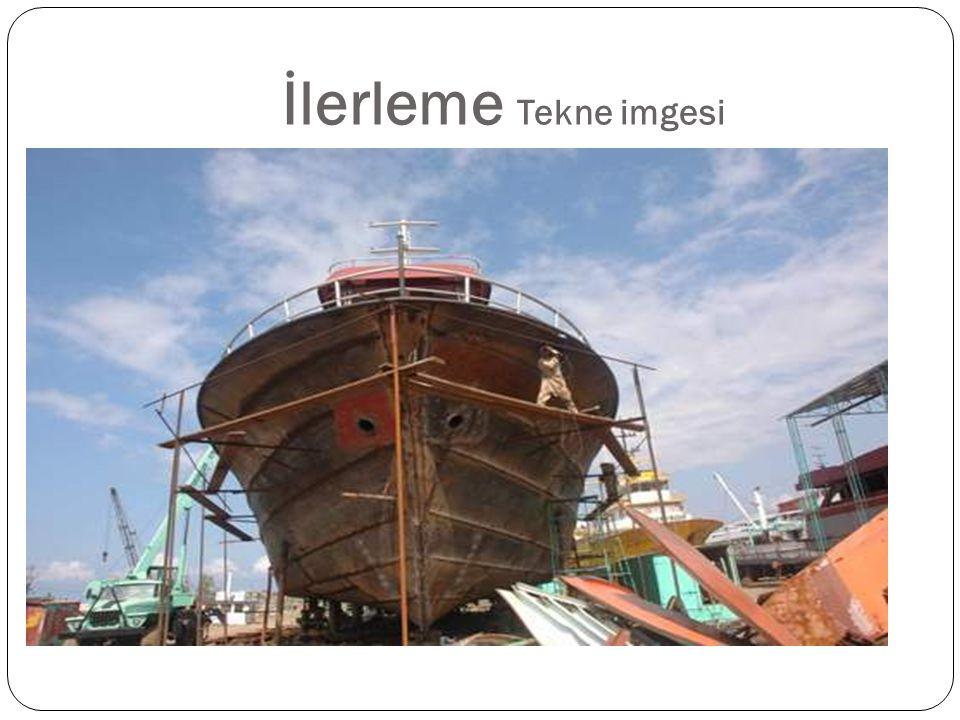 İlerleme Tekne imgesi Bilimin gelişimi denizdeki gemini inşasına benzer.
