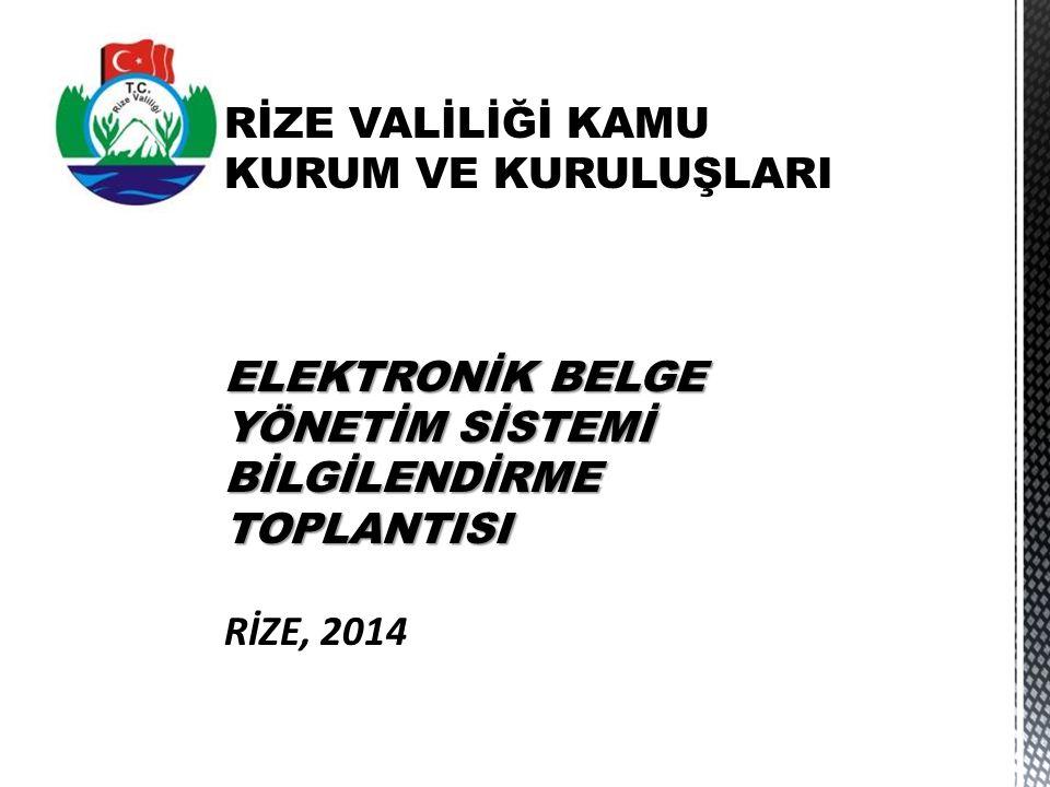 Onay ve Kayıt Bilgisi  Elektronik imza  Elektronik mühür  Elektronik zaman damgası  Özel elektronik işaretler  Kurum evrak sistemi