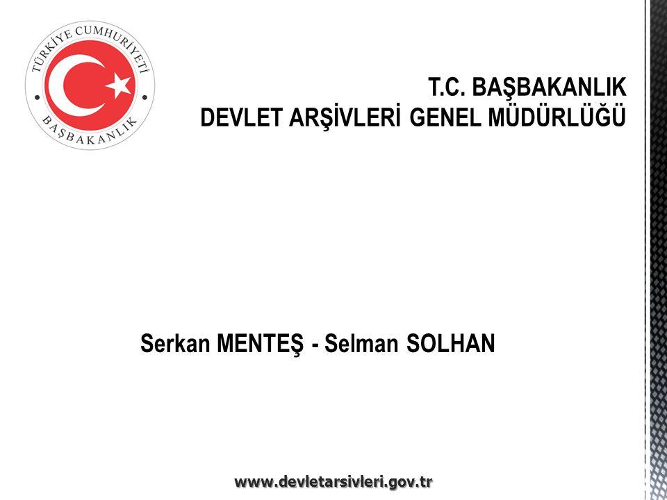 Genelgeler  Standart Dosya Planı.2005/7 Başbakanlık Genelgesi.
