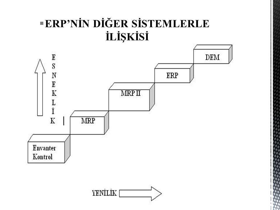 (Systems Analysis and Program Development)  Türkiye'de yaklaşık 20 bin kullanıcısı bulunan SAP, ERP pazarında dünyada olduğu gibi Türkiyede de lider konumdadır.