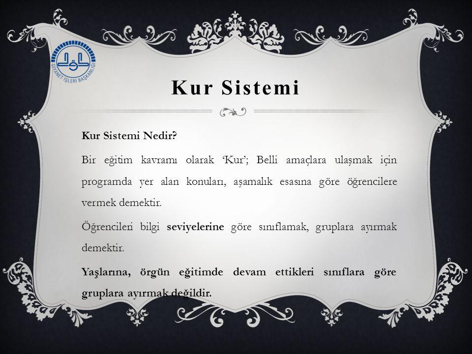 Kur Sistemi Kur Sistemi Nedir.