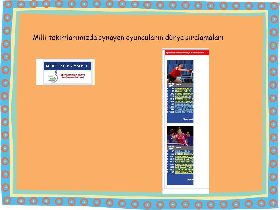 WEB SAYFASINDA YAPILAN DEĞİŞİKLİKLER: Web sayfamızdaki renk skalası, federasyon logosundaki renklere uygun hale getirilerek kurumsal kimliğimizi yansıtılması sağlandı.