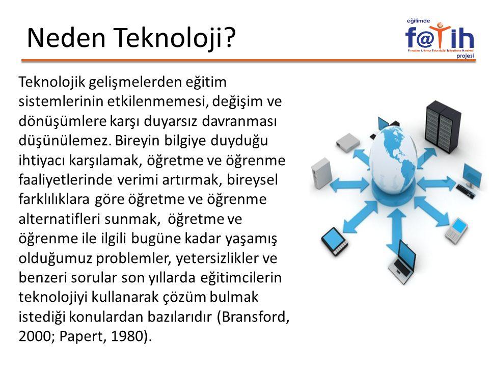 Neden Teknoloji.