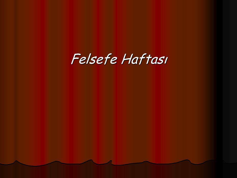Felsefe'nin Anlamı Antik Yunan dünyasının ürünü olan felsefe sözcüğünün anlamı bilgi,bilgelik sevgisi olup sözcük Yunanca'dan Latinceye ve diğer dillere Arapçaya oradan da Türkçeye geçmiştir.