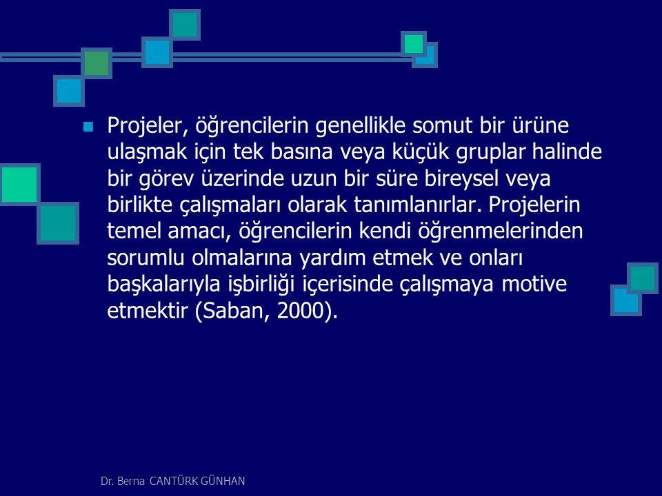 Dr.Berna CANTÜRK GÜNHAN Proje Tabanlı Öğrenme yönteminin kökleri 20.