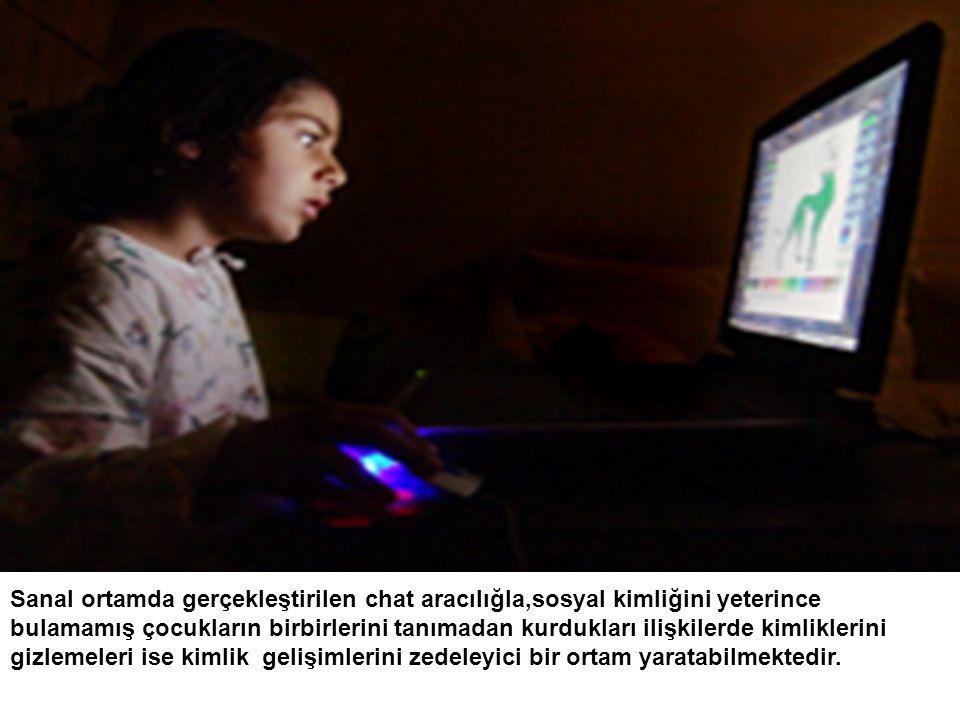İnternette içki ve sigaraya özendiren,çocukların cinsellikle ilgili bilgileri yanlış anlaması ve cinsel sapmalara yönelmesi açısından ciddi bir tehlike olarak görülmektedir.