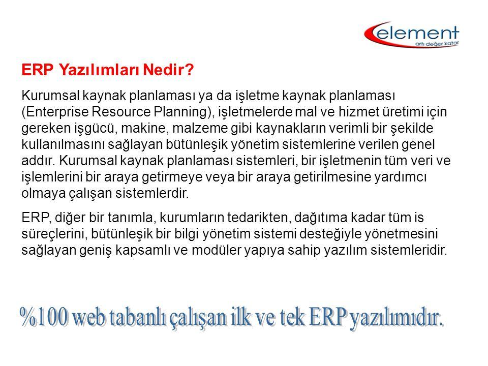ERP Yazılımları Nedir? Kurumsal kaynak planlaması ya da işletme kaynak planlaması (Enterprise Resource Planning), işletmelerde mal ve hizmet üretimi i