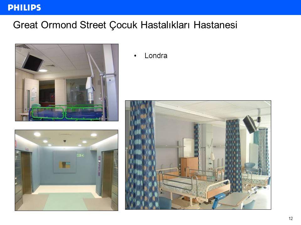 12 Great Ormond Street Çocuk Hastalıkları Hastanesi Londra