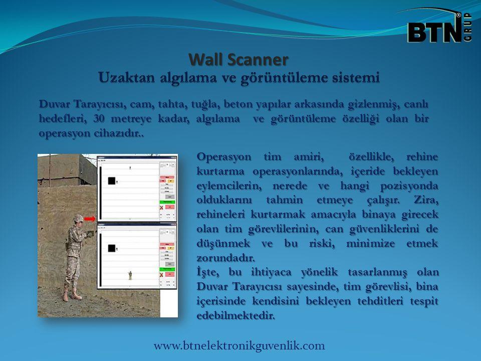 Wall Scanner Wall Scanner Duvar Tarayıcısı, cam, tahta, tuğla, beton yapılar arkasında gizlenmiş, canlı hedefleri, 30 metreye kadar, algılama ve görüntüleme özelliği olan bir operasyon cihazıdır..