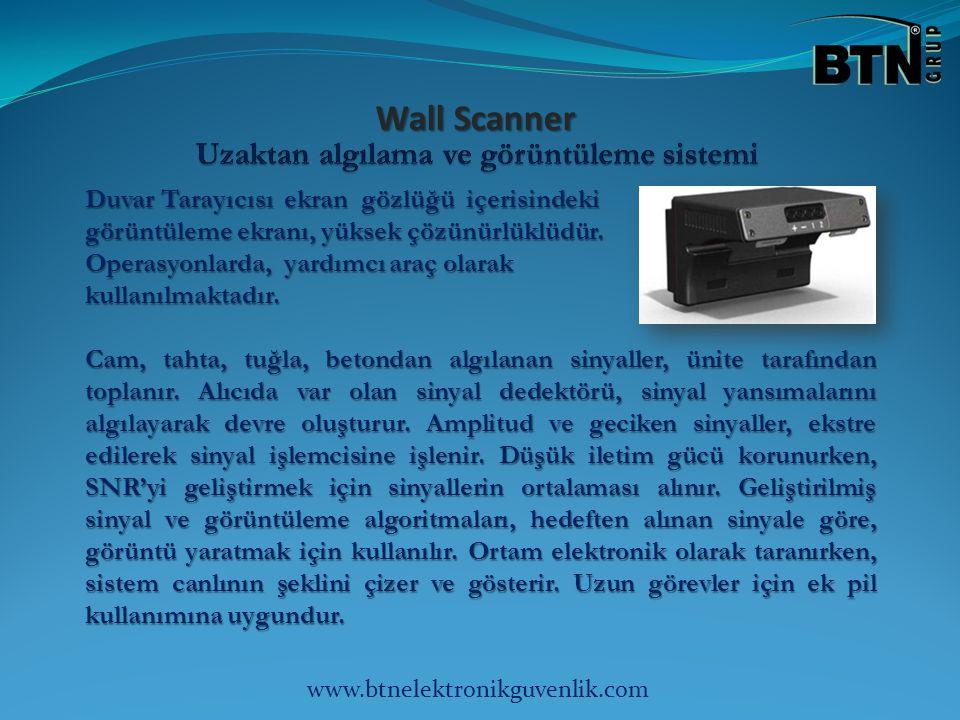 Duvar Tarayıcısı ekran gözlüğü içerisindeki görüntüleme ekranı, yüksek çözünürlüklüdür.