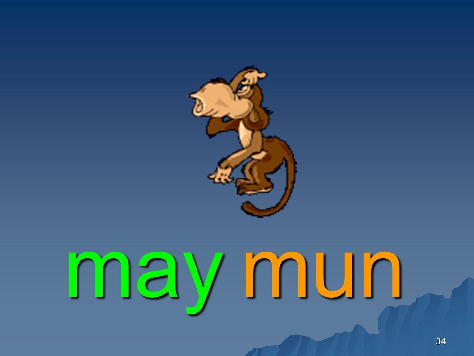 34 maymun