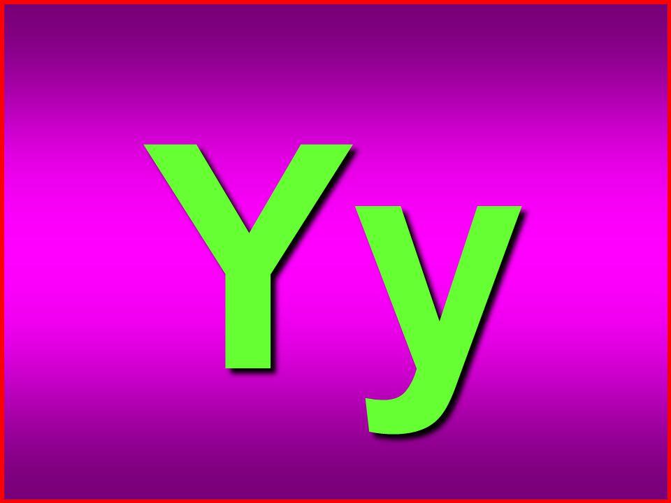 9 Y y