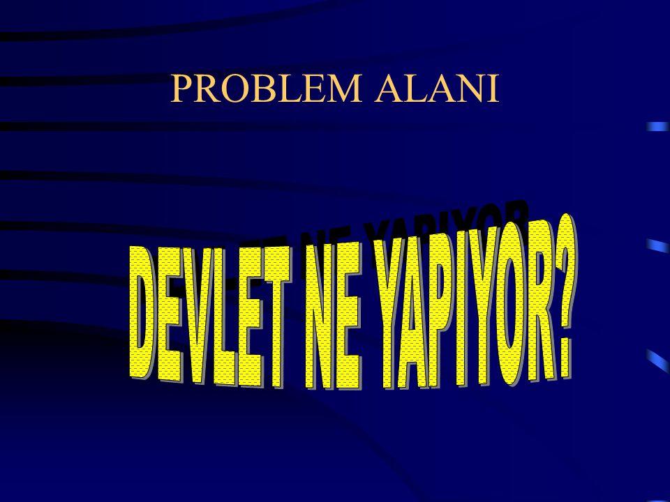 PROBLEM ALANI