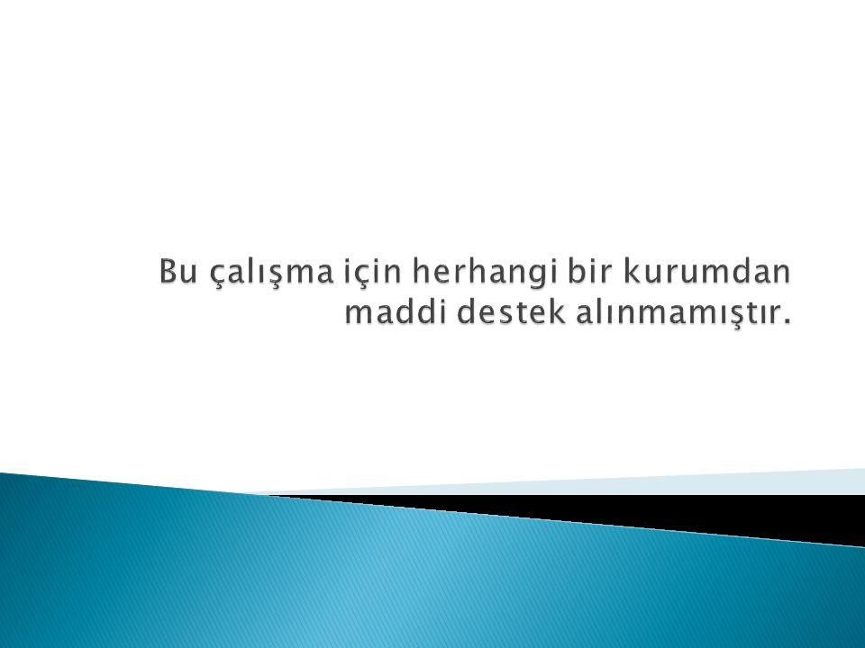  İstanbul ilinde M.tuberculosis suşları üzerine yapılmış fazla sayıda çalışma bulunmamaktadır.