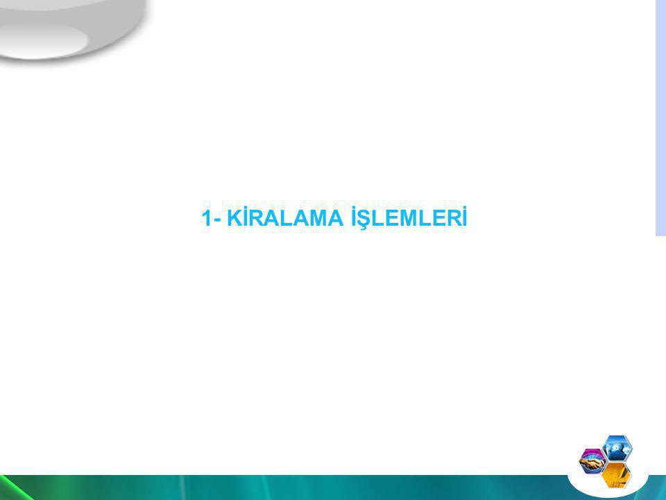 -KDV Kanununun 1/1 inci maddesinde, Türkiye de ticari, sınai, zirai faaliyet ve serbest meslek faaliyeti çerçevesinde yapılan teslim ve hizmetlerin KDV nin konusuna girdiği hüküm altına alınmıştır.