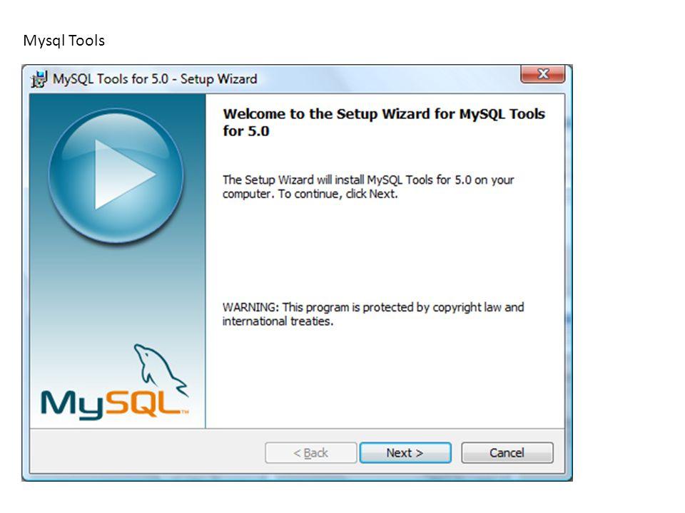 Mysql Tools