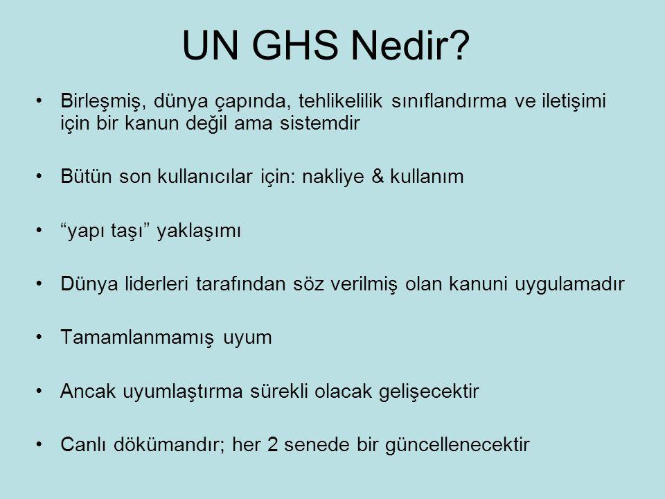UN GHS Nedir.