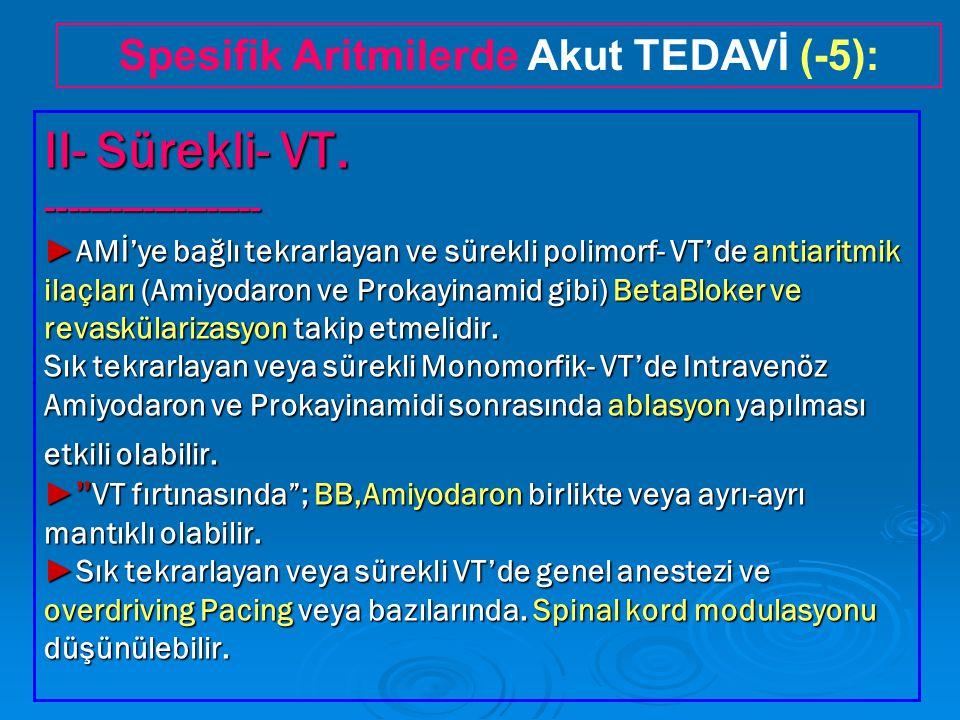 II- Sürekli- VT.