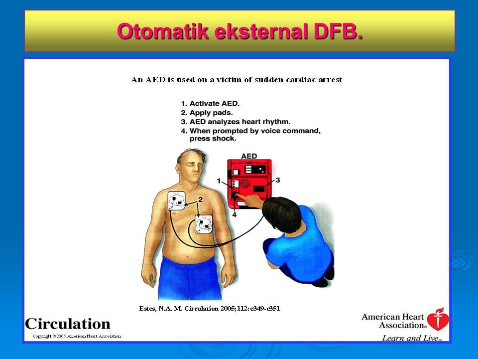 Otomatik eksternal DFB.