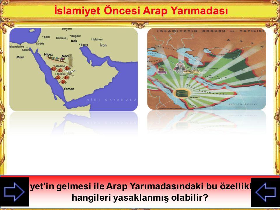 İslamiyet Öncesi Arap Yarımadası Ukaz adı verilen panayır düzenlenir, ticaret eğlence ve şiir yarışmaları düzenlenirdi. Panayırın olduğu aylarda savaş