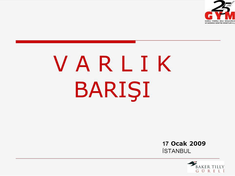17 Ocak 2009 İSTANBUL