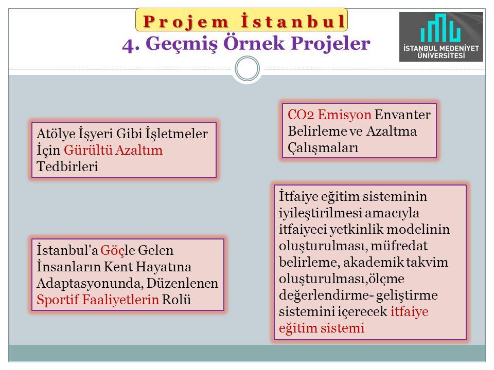 Projem İstanbul Projem İstanbul 4. Geçmiş Örnek Projeler Atölye İşyeri Gibi İşletmeler İçin Gürültü Azaltım Tedbirleri CO2 Emisyon Envanter Belirleme