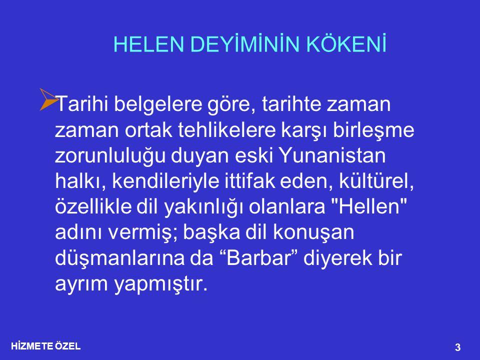 HİZMETE ÖZEL 14