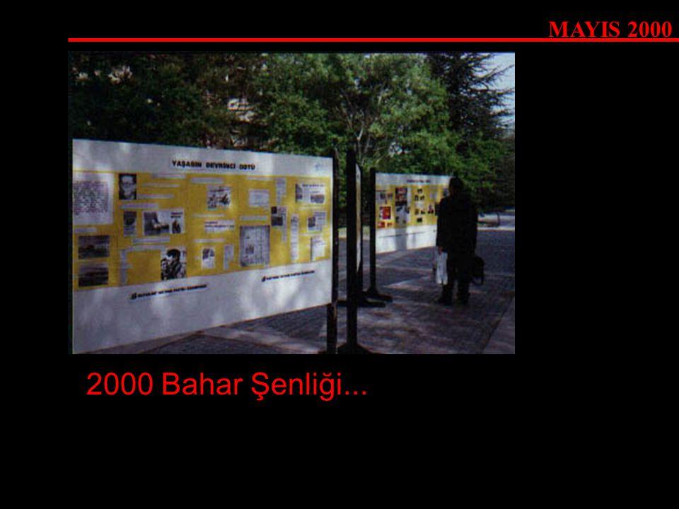 MAYIS 2000 2000 Bahar Şenliği...