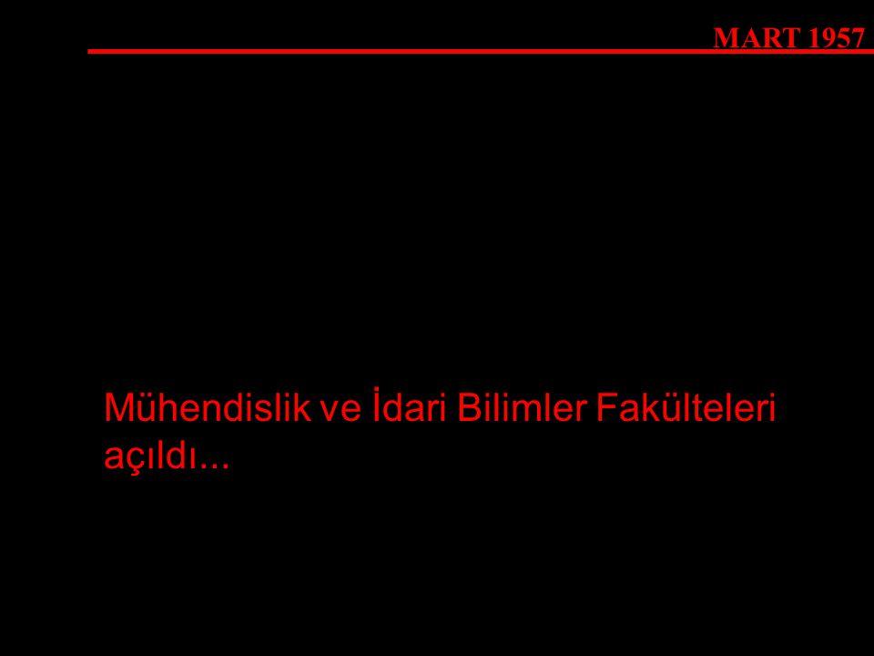 6 OCAK 1969 Komer ODTÜ'de...