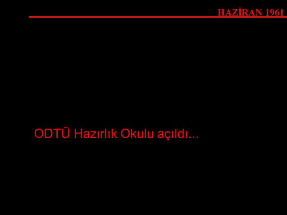 23 ŞUBAT 1977 Rektör Tan nihayet ODTÜ'yü kapattı...