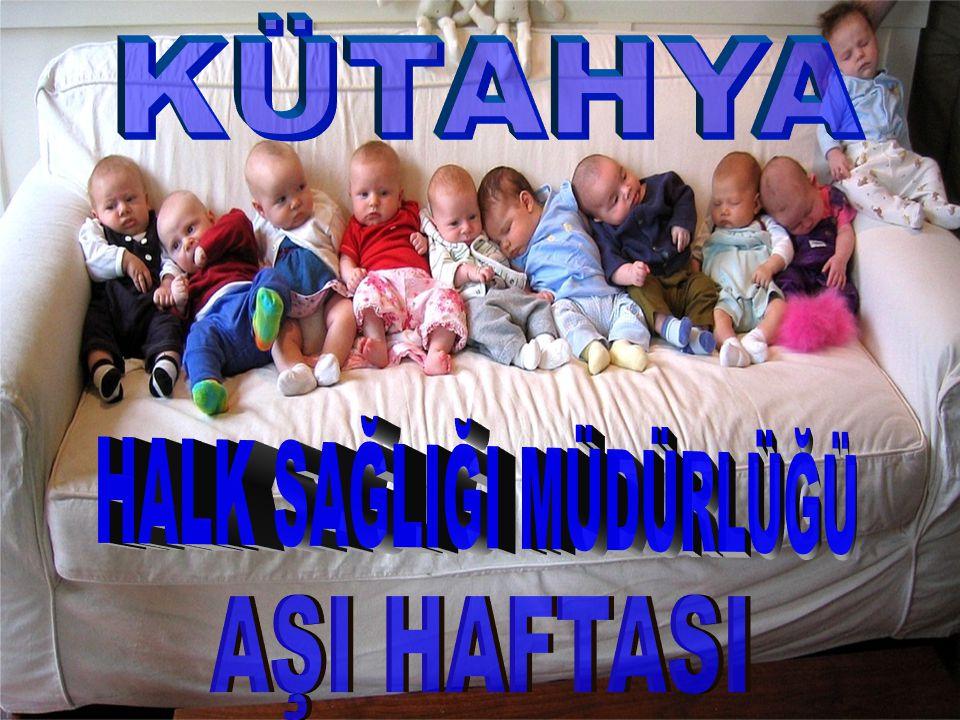 Aşı İle Korunabilir Hastalıklar Difteri, Difteri, Boğmaca, Boğmaca, Kızamık, Kızamık, Kızamıkçık, Kızamıkçık, Kabakulak, Kabakulak, Tetanoz (yenidoğan tetanozu dâhil), Tetanoz (yenidoğan tetanozu dâhil), Verem, Verem, Çocuk felci, Çocuk felci, Hepatit B ve Hepatit B ve Hemophilus influenza tip b'ye Hemophilus influenza tip b'ye Zatürree, beyin iltihabı ve kan zehirlenmesine Zatürree, beyin iltihabı ve kan zehirlenmesine (Konjuge Pnömok Aşısı KPA) bağlı hastalıkları kapsamaktadır.