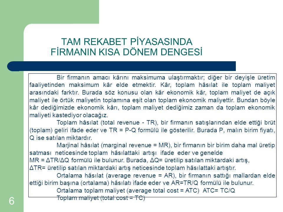 17 TEKNOLOJİK DEĞİŞME VE FİRMANIN UZUN DÖNEM DENGESİ Firmanın uzun dönem dengesi Türkçe ve İngilizce ekonomi kitaplarında, genellikle, uzun dönemde sermaye dahil bütün girdiler değişken kabul edilirken, teknoloji değişmiyor varsayılır.