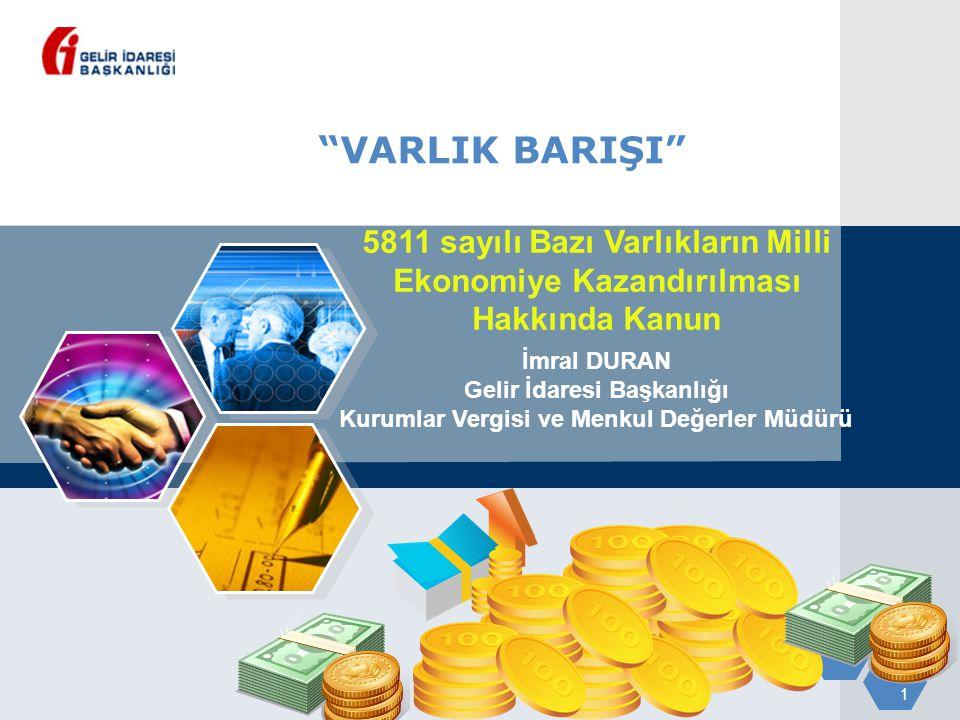 12 Bankaların ve Aracı kurumların yapacakları işlemler Bankalar Müşteri adına açılan hesaba kayıt edecek ve müşteri portföyüne dahil edecek Aracı kurumlar Bildirim tarihinden itibaren 1 ay içinde Türkiye'ye getirilen/transfer edilen Varlıkları Menkul kıymet ve diğer sermaye piyasası araçlarını Bildirim değeri üzerinden %2 oranında hesaplanan vergi, izleyen ayın 15'ine kadar kurumlar vergisi yönünden bağlı olunan vergi dairesine yatırılacaktır.