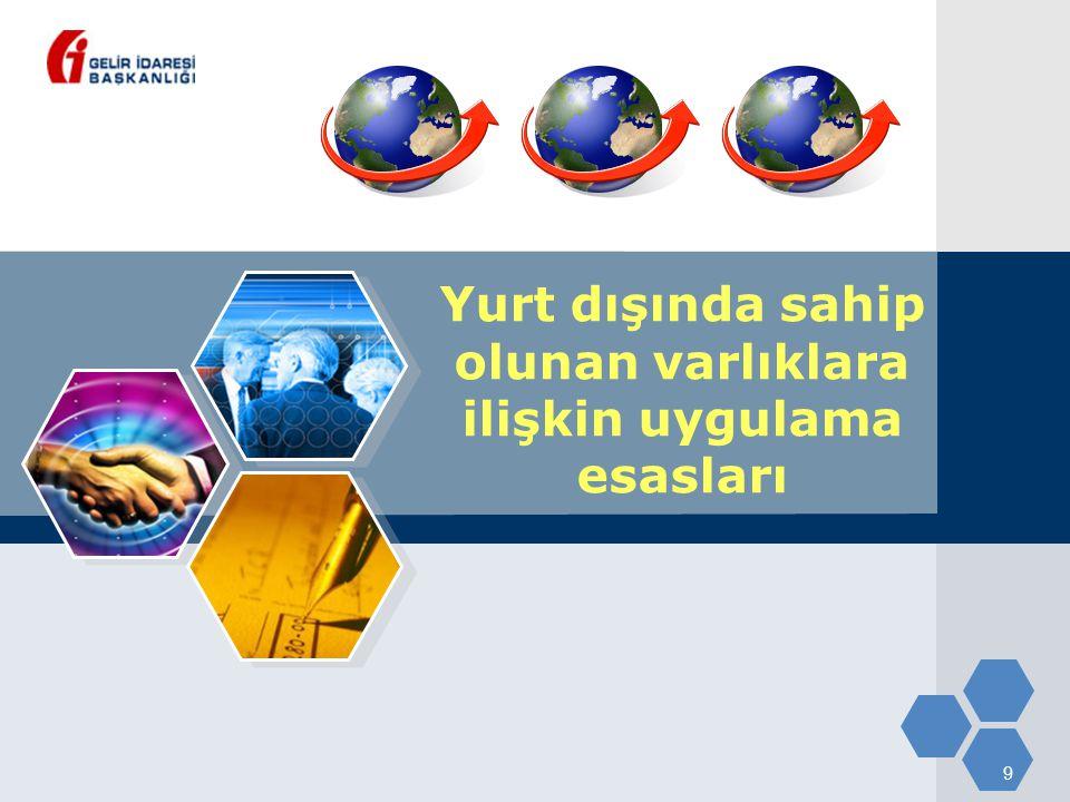 40 Kanun kapsamında istisna kazançlar 22/11/2008 ile 30/4/2009 tarihleri arasında elde edilen;  Yurt dışı iştirak kazancı,  Yurt dışı iştirak hissesi satış kazancı,  Yurt dışı şube kazancı, 31/5/2009 tarihine kadar Türkiye'ye transfer edilmiş olmalı.