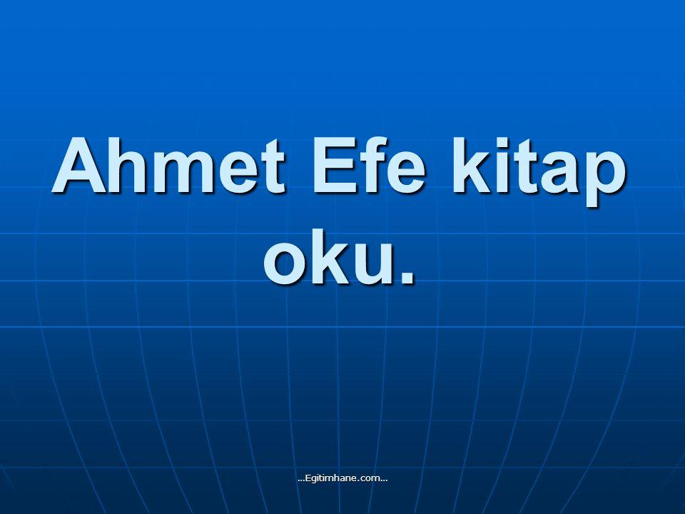 Ahmet Efe kitap oku. …Egitimhane.com…