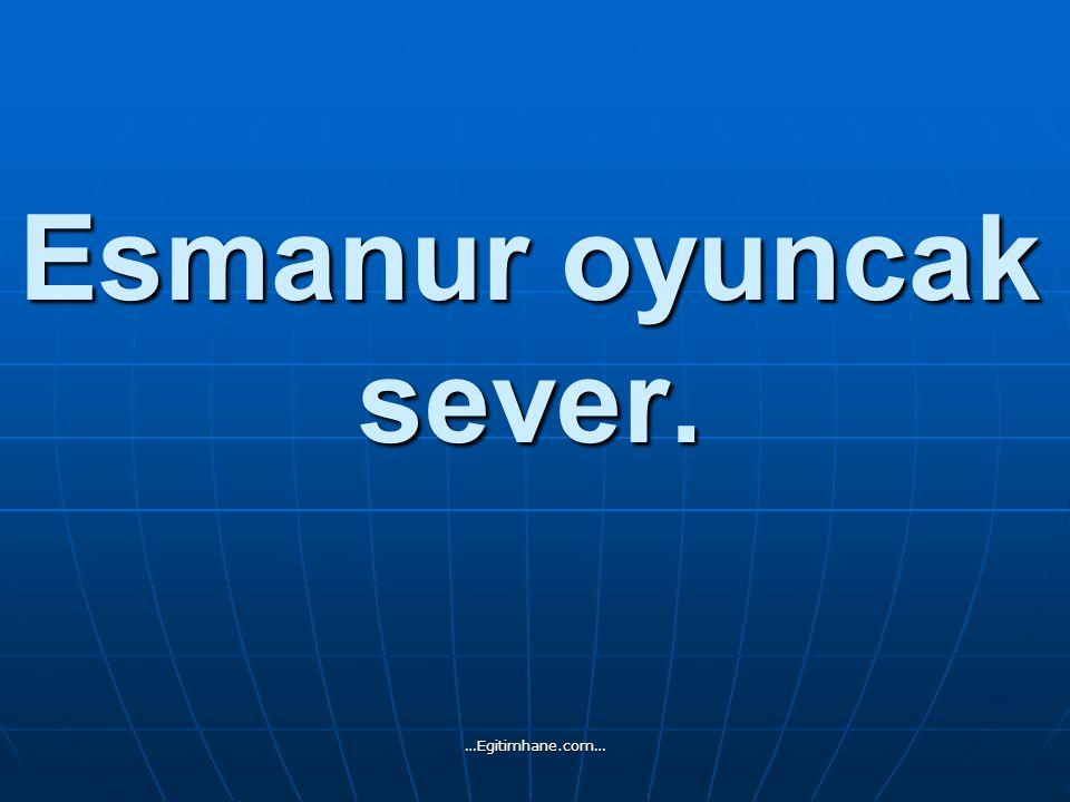 Ahmet Yavuz şeker aldı. …Egitimhane.com…