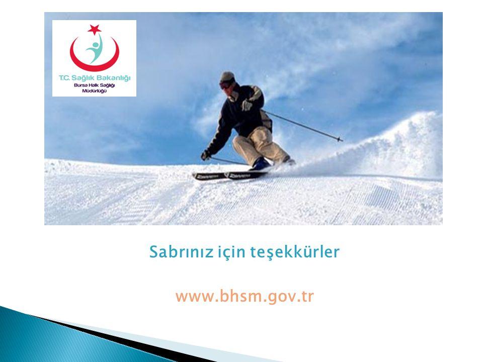 Sabrınız için teşekkürler www.bhsm.gov.tr