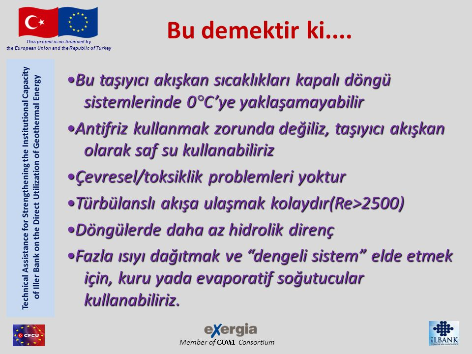 Member of Consortium This project is co-financed by the European Union and the Republic of Turkey Bu demektir ki....