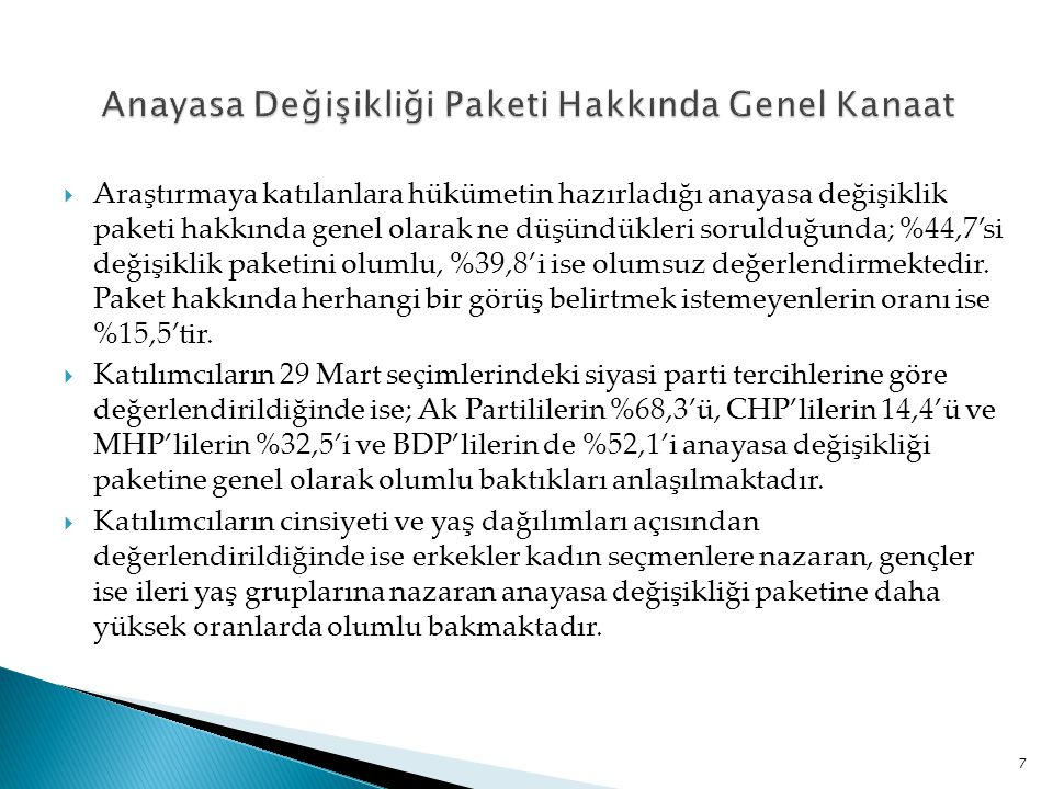 Yüksek yargının (Yargıtay'ın, Danıştay'ın ve HSYK'nın) anayasa değişikliği paketine karşı çıkması hakkında ne düşünüyorsunuz.
