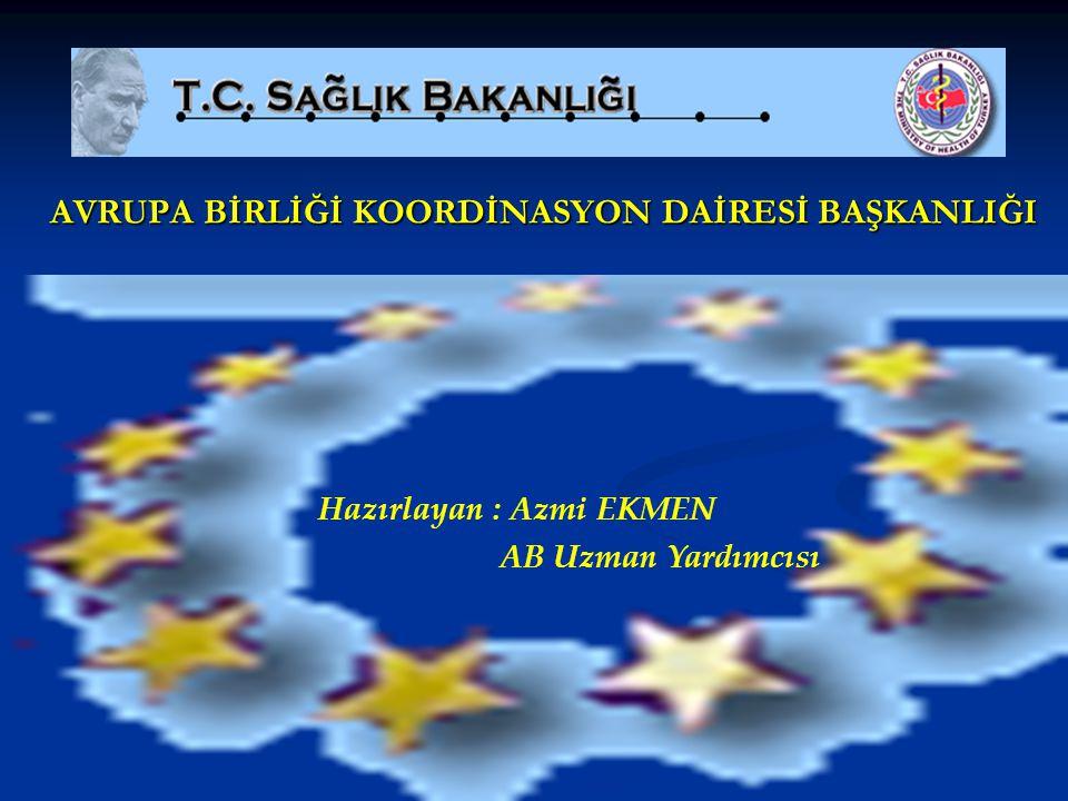 UYUM PAKETLERİ Avrupa Birliği'ne Uyum çalışmaları Kapsamında bugüne kadar 9 adet uyum paketi yayınlanmıştır.
