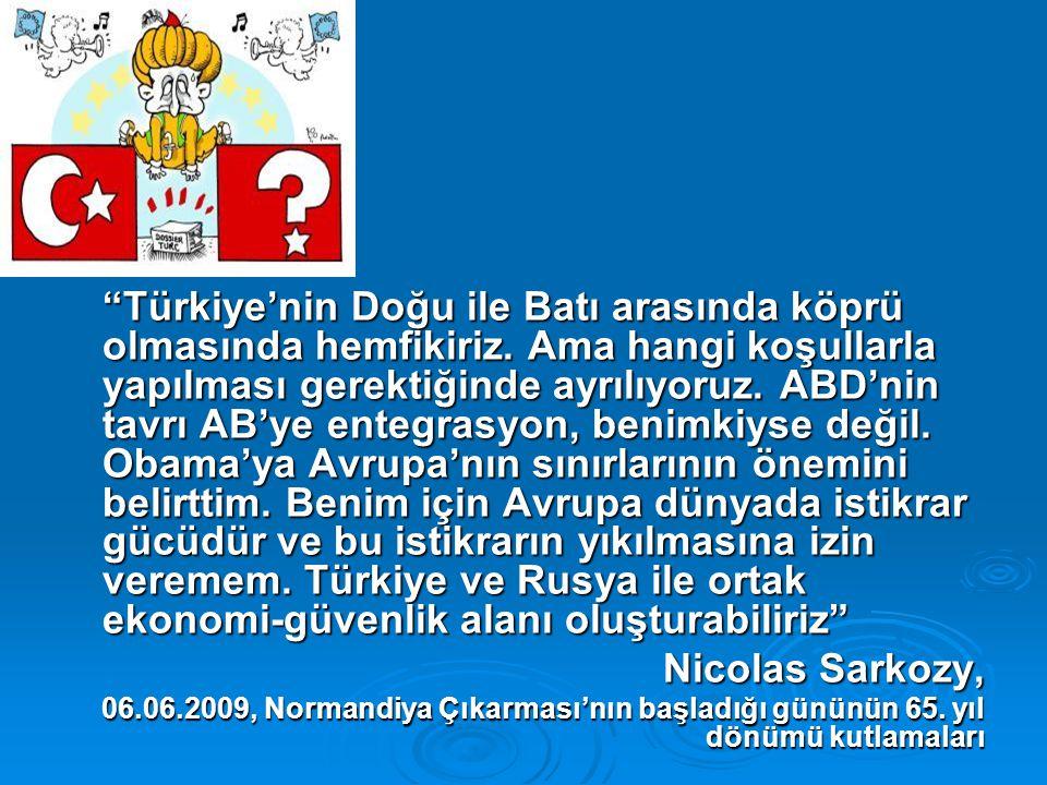 Bağımsız Türkiye Komisyonu İkinci Raporu (2009) Avrupa'da Türkiye: Kısır Döngüyü Kırmak   Avrupa Birliği Konseyi (Helsinki) Türkiye'nin diğer aday ülkelerle eşit statüde aday ülke (Aralık 1999)   Tüm AB ülkelerinin devlet veya hükümet başkanlarından oluşan Avrupa Birliği Konseyi'nin oybirliğiyle Türkiye ile müzakerelerin başlaması kararı (Aralık 2004) ►Bu karar 407 lehte ve 262 aleyhte oy ile Avrupa Parlamentosu'nda da onaylandı.