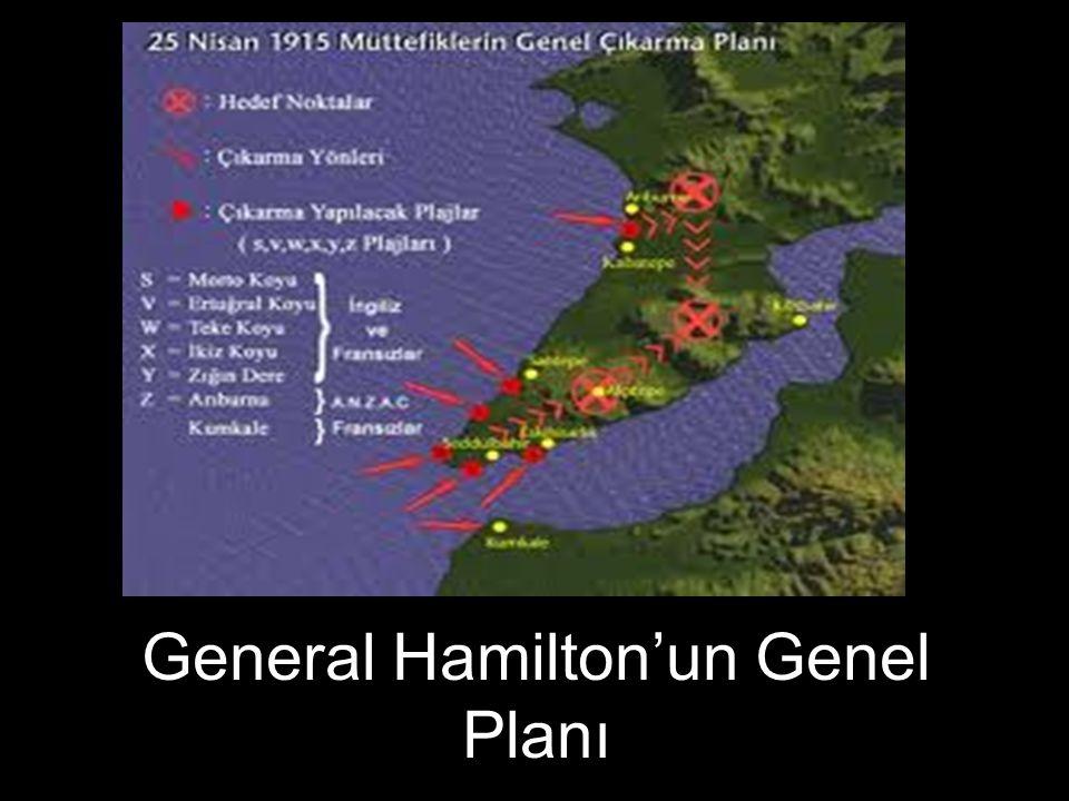 General Hamilton'un Genel Planı