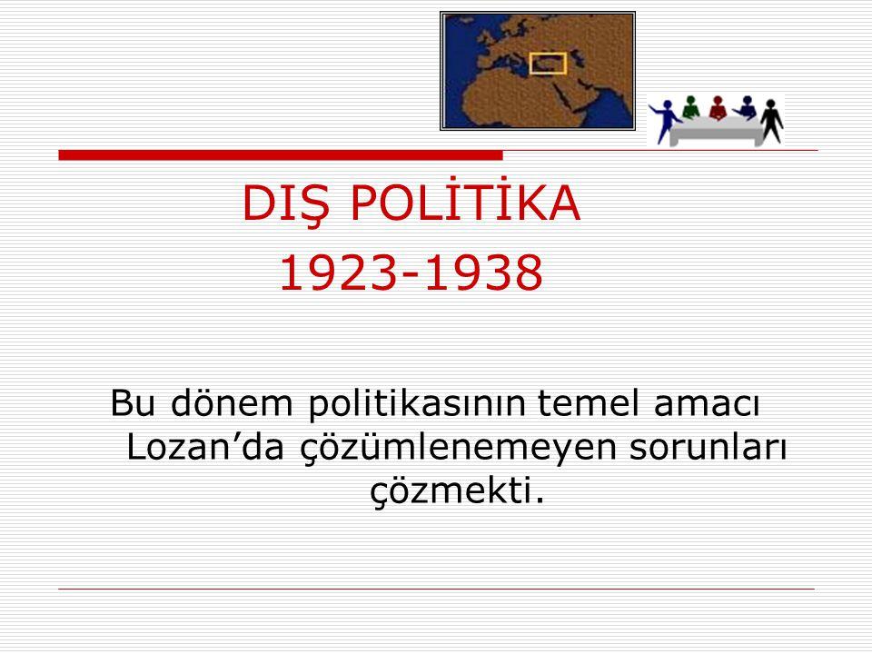 """YURTTA SULH CİHANDA SULH"""