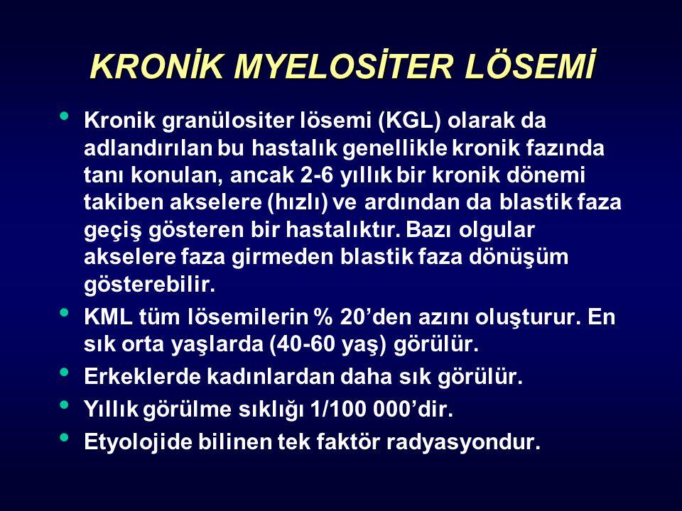 Kronik lenfositik lösemi (KLL) tüm lösemilerin içinde % 25'den daha fazla oranda görülür.