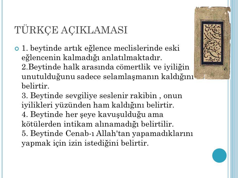 TÜRKÇE AÇIKLAMASI 1.