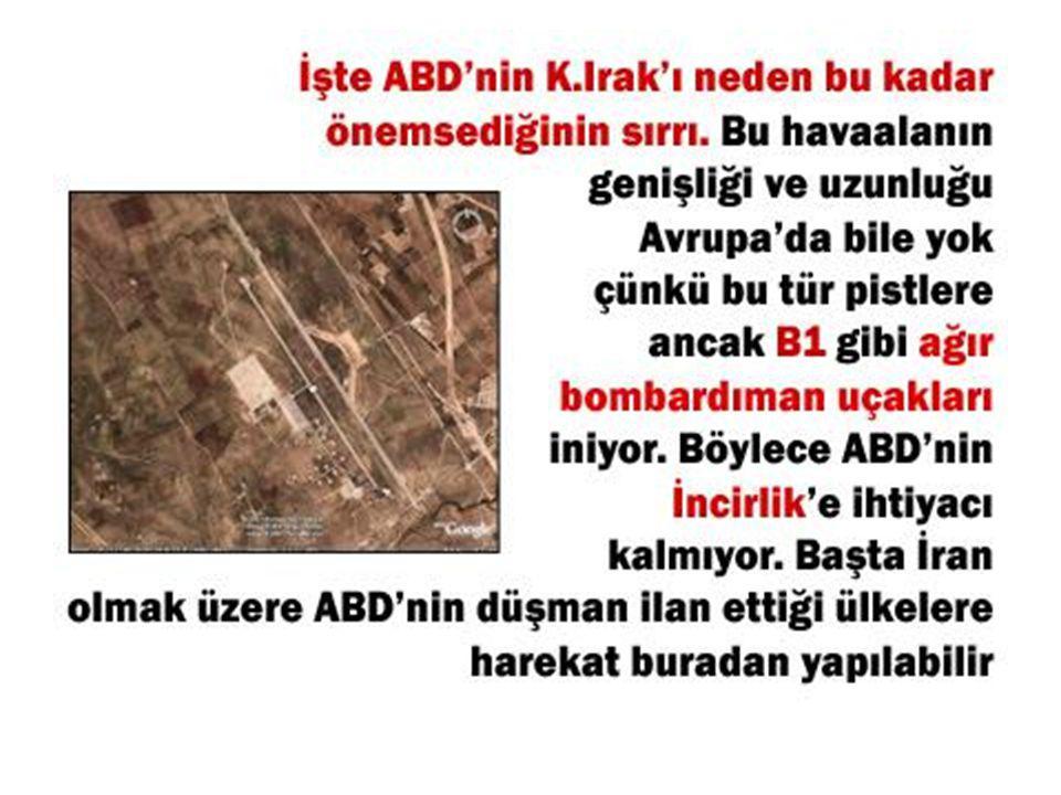 SİZ ABD OLSANIZ 1.Türkiye'nin Irak'a girmesini, 2.Irak'ın ABD'ye muhtaç olmayacak kadar iyi bir duruma gelmesini, 3.Irak Kürtleri ile Türkiye'nin arasının düzelmesini, Hiç ister misiniz.