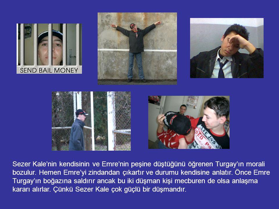 Sezer Kale Zülfo'nun Emre ve Turgay arasındaki basit anlaşmazlıklar sebebiyle Turgay'ın adamları tarafından öldüğünü öğrenir.
