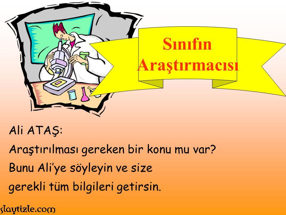 Ahmet ATİK: Ahmet okulda düzenlenen tüm spor faaliyetlerinde.
