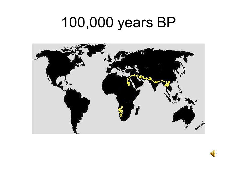 100,000 years BP